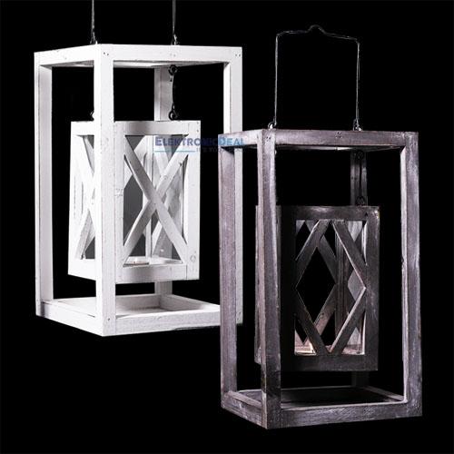 laterne shabby design landhausstil windlicht kerze deko gartenlaterne holz neu ebay. Black Bedroom Furniture Sets. Home Design Ideas