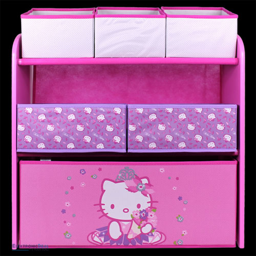 regal hello kitty aufbewahrungsregal spielzeugkiste. Black Bedroom Furniture Sets. Home Design Ideas