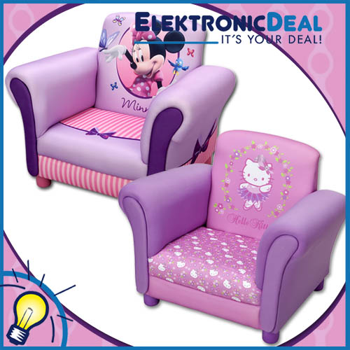 hello kitty minnie mouse kindersessel sessel m bel kinder. Black Bedroom Furniture Sets. Home Design Ideas