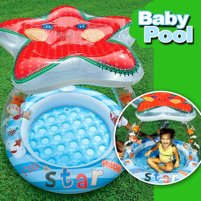 kinder baby planschbecken garten pool spielpool babypool badepool seestern intex ebay. Black Bedroom Furniture Sets. Home Design Ideas
