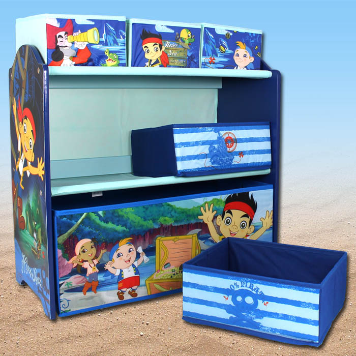 disney jake aufbewahrungsregal regal spielzeugkiste spielzeugtruhe kinderm bel ebay. Black Bedroom Furniture Sets. Home Design Ideas