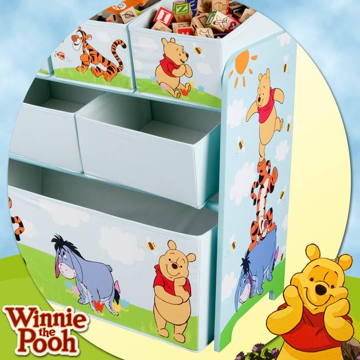 Disney winnie the pooh kinder spielzeugbox for Winnie pooh kinderzimmer