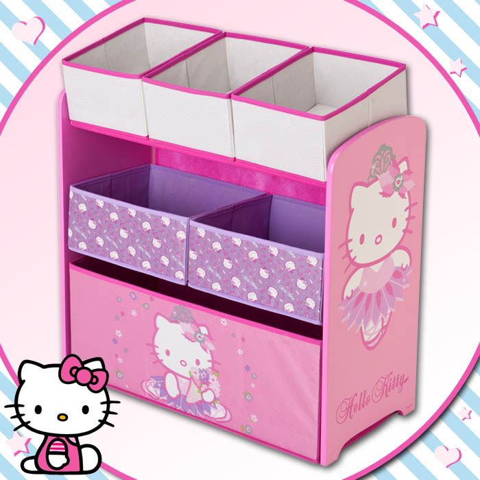 hello kitty aufbewahrungsregal regal spielzeugkiste. Black Bedroom Furniture Sets. Home Design Ideas