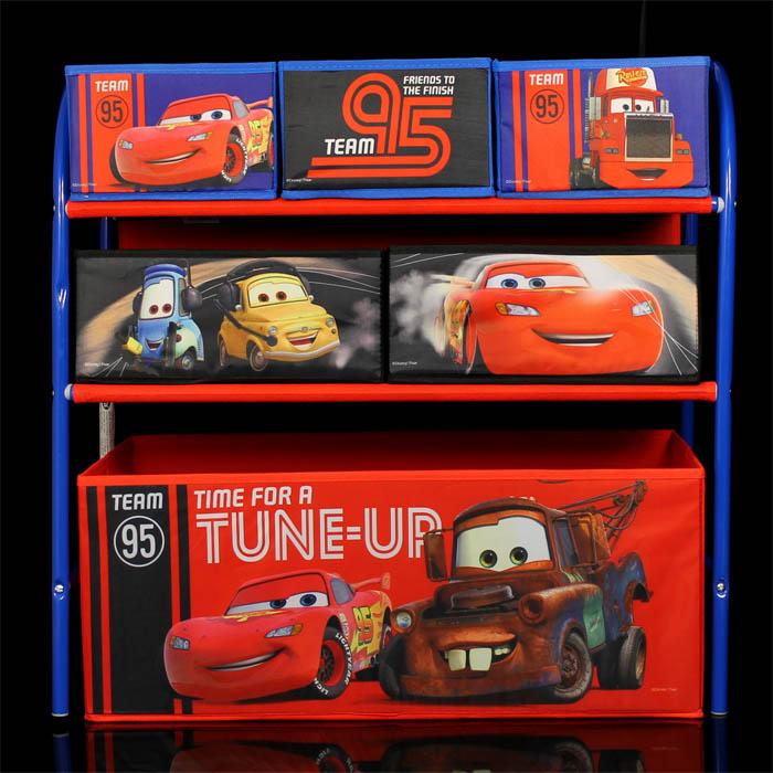 Disney cars aufbewahrungsregal kinder regal spielzeugkiste