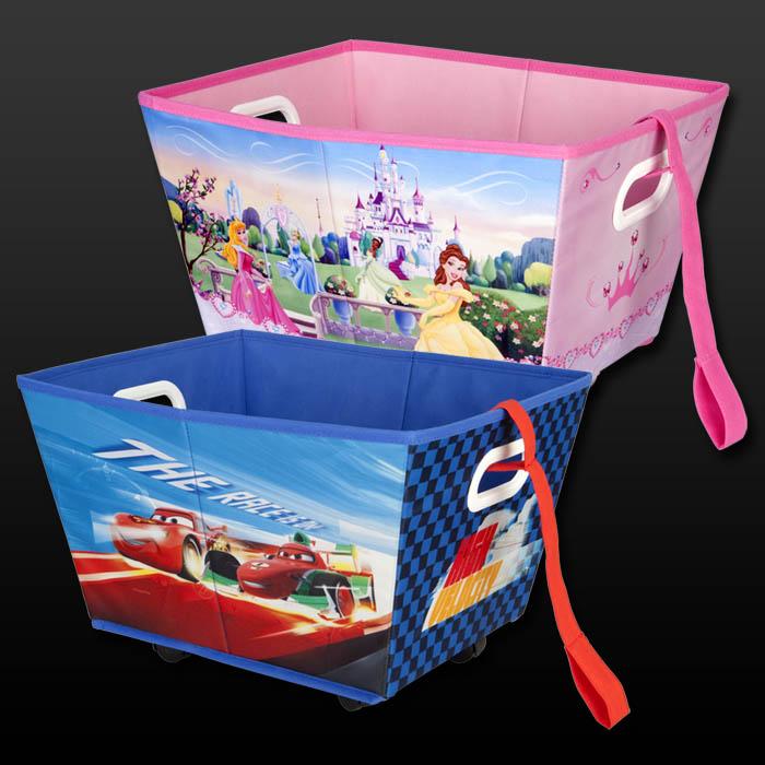 Disney cars princess spielzeugkiste rollen spielzeugbox