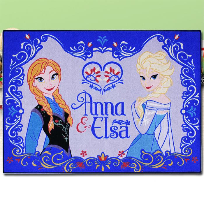 Disney Frozen Anna Elsa Kinder Teppich Spiel Kinderzimmer